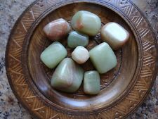 ARAGONITE, GREEN 1/4 Lb Gemstone Specimens Tumbled Wiccan Pagan Metaphysical