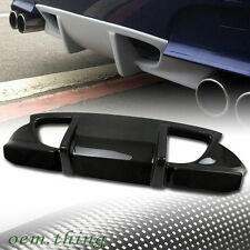 Carbon Fiber BMW E60 5-Series 4DR M5 Model Rear Bumper Diffuser 06-10