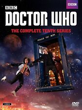 Doctor Who: Season 10 Complete Tenth Series (DVD, 2017, 5-Disc Set)