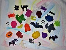 Handmade Halloween Shaped Crayons, Bats, Ghosts, Pumpins, Skulls, Cats