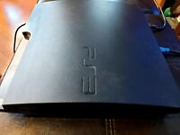 Sony PlayStation 3 Slim Launch Edition 160GB Charcoal Black Console