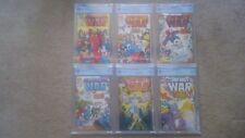 The Infinity War Complete Marvel Comic Set # 1-6, CGC/CBCS, 9.6-9.8, Avengers