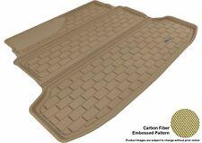 For 2010-2013 KIA FORTE Cargo Liner KAGU Carbon Pattern Tan Custom Fit Floor Mat