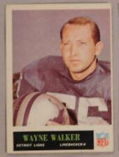 1965 Philadelphia Wayne Walker Detroit Lions #68 ex