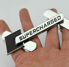 3D Auto Schriftzug Grill Frontgrill Emblem Plakette für SUPERCHARGED sports NEW