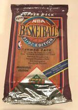 1991-92 NBA Upper Deck Low Series Jumbo Basketball Pack 27 Cards Michael Jordan