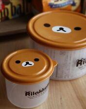 San-X Rilakkuma Bento Box Lunch Box Case  - 2 Pieces