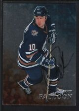 PAT FALLOON 1998/99 BAP BE A PLAYER ON CARD AUTOGRAPH SP