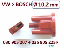 Zündverteilerkappe + Zündverteilerläufer VW POLO (6N1) 45 1.0  1.3  1.4