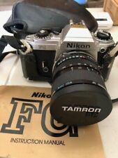 Nikon FG 35mm SLR Film Camera