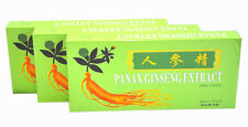 3 Boxes Panax Ginseng Extract Oral Liquid 4500mg Improves Stamina & Memory