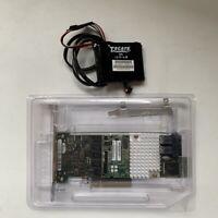 Fujitsu D3216-A13  SAS 1GB Cache 12GB +  LSI00418 BBU09 RAID Card W/ Battery