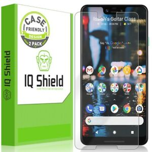 2x IQ Shield Clear Screen Protector for Google Pixel 3 XL (Case Friendly)