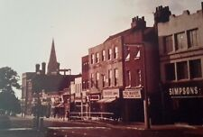 "ELTHAM HIGH STREET, 1977, SOUTH EAST LONDON 7X5"" REPRODUCED PRINT"