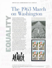#923  Forever 1963 March on Washington #4804 USPS Commemorative Stamp Panel