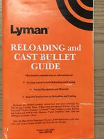 Lyman Reloading And Cast Bullet Guide