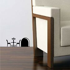 Mouse Hole Table - Children Decor Vinyl Sticker Wall Decal