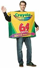 Crayola 64-Piece Crayon Box Adult Fancy dress costume Standard