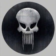GOLF / The Punisher Gray Skull Golf Ball Marker w/ Magnetic Hat Cllp New!!