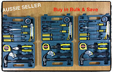 3x 13 piece medium portable bulk tool box kit