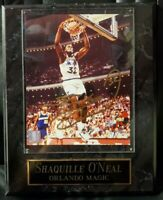 Shaquille O'Neal Authentic Autographed 8x10 Photo Orlando MagicPlaque COA