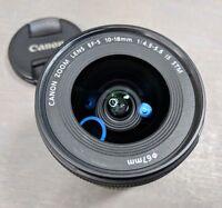 Canon EF-S 10-18mm f/4.5-5.6 AF IS STM Lens - Awesome Lens