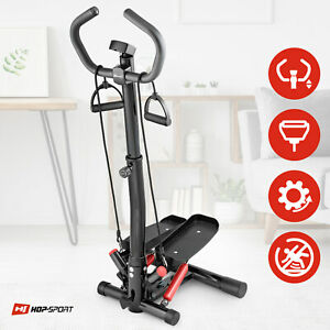 Twist Stepper With Column HS-055S Noble Red Gym Aerobic Workout Machine Stepping