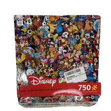 Disney Collector Pins Vintage Poster Ceaco 750 Pc Jigsaw Puzzle New Sealed