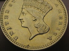 1859 $1 Gold Liberty Head One Dollar Coin