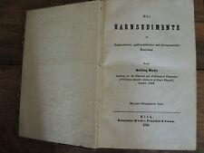 Medicina libro especializado las harnsedimente, la saliva, la bilis de 1844 EA rareza