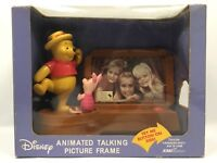 Disney Winnie The Pooh & Piglet Musical Animated Talking Picture Frame