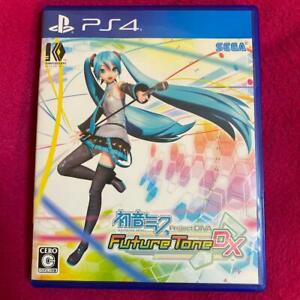 PS4 Hatsune Miku Project DIVA Future Tone DX Sony Playstation 4 Japan Import