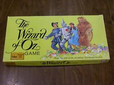 1974 The Wizard of Oz Game - Cadaco - Complete