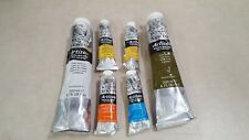 Lot of 6 Windsor & Newton Artisan Water Mixable Oil Colour (1.25oz and 6.75oz)