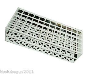 Plastic Test tube tray rack Holds 60 tubes up to 17 mm tubes