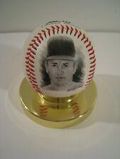 NOLAN RYAN Baseball Limited Edition Fotoball by Mennen Promo Item w/ Display
