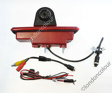 Renault Traffic Vivaro LED Brake Light Rear View Reversing Colour Camera