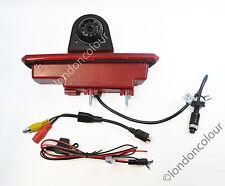 Renault Traffic Vivaro LED Brake Light Rear View Reversing Colour Camera NTSC