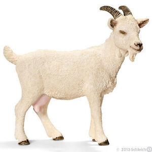 NEW SCHLEICH 13719 Domestic Nanny Goat - Farm Life Models - RETIRED