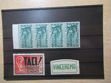 VF1/1009 ITALIEN ITALIA ITALY 761 Viererstreifen + Vignetten xx
