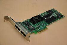 DELL Intel PRO/1000 VT Quad Port PCI-e Server Network Card DP/N YT674