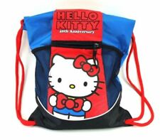 HELLO KITTY 40TH ANNIVERSARY BACK SACK PACK ZIPPER POCKET STRETCH CARGO POCKETS