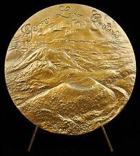 Médaille Chamalière Georges Lang Puys Puy-de-Dôme Auvergne volcan 1979 Medal