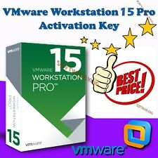 VMware Workstation 15 Pro ⭐ Lifetime⭐ Fully Licensed Version⭐ 5 Pc,s, 64bit