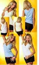 Locker sitzende ärmellose Damenblusen, - tops & -shirts S
