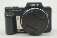 Sony Cyber-shot DSC-H10 8.1MP Digital Camera - Black