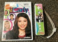 Nintendo Wii iCarly Game & Controller Bundle - Official WiiMote w/ iCarly Skin