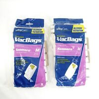 Lot of 15 Sears Kenmore M Ultra Care Vacuum Bags Magic Blue Canister 51195