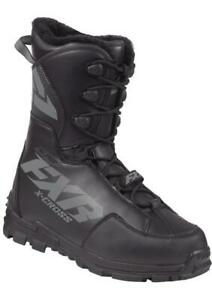 """FXR """"X-CROSS PRO SPEED"""" BOOTS SNOWMOBILE -40C - BLACK OPS - PICK SIZE"""