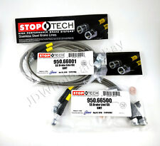 STAINLESS STEEL F+R BRAKE LINES FOR 02-06 CHEVROLET AVALANCHE 1500 - STOPTECH